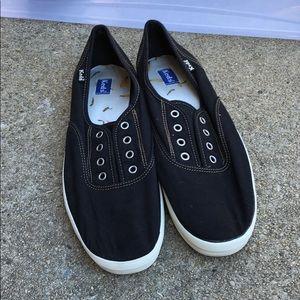 Keds Black Slip on Sneakers